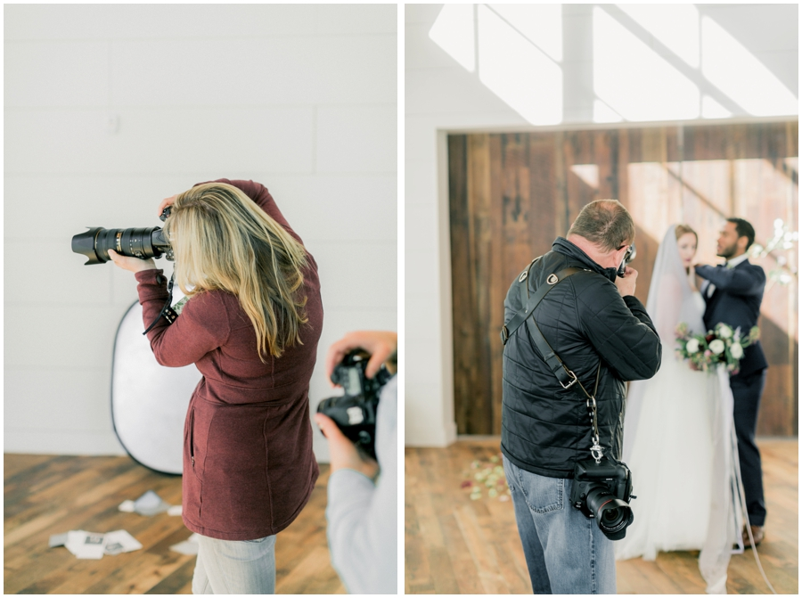 photography at styled shoot