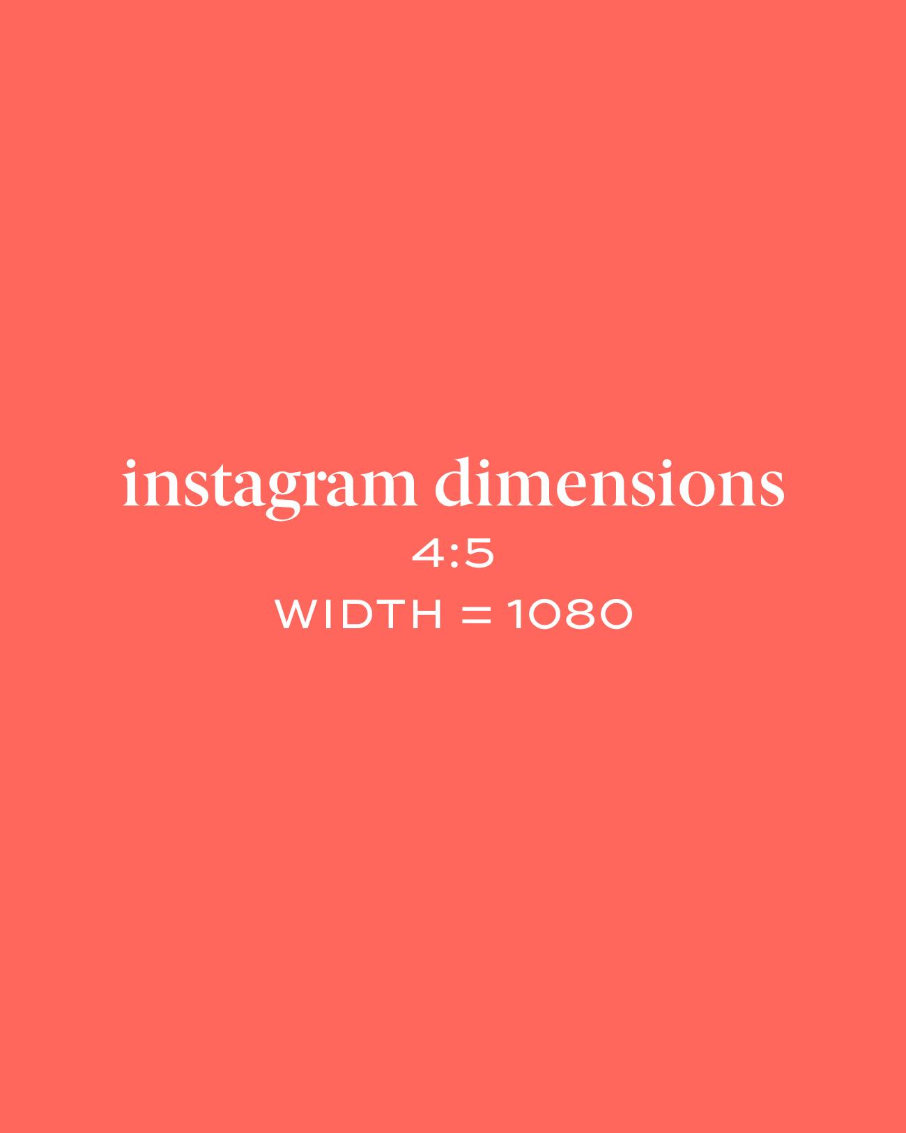 instagram resizing 4:5