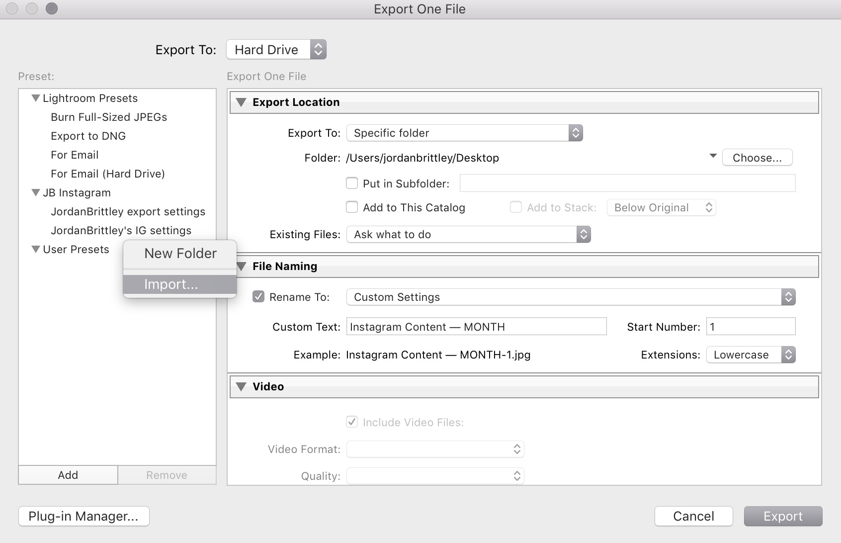 import lightroom export settings template into Lightroom - 1.jpg