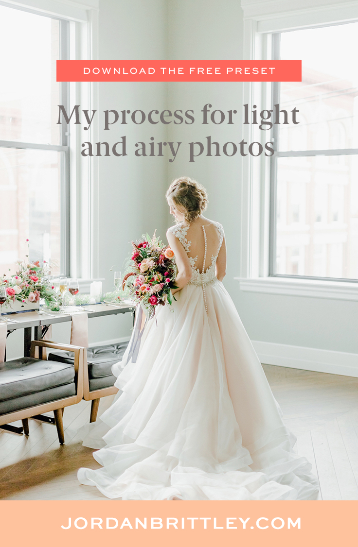 how to get light and airy photos