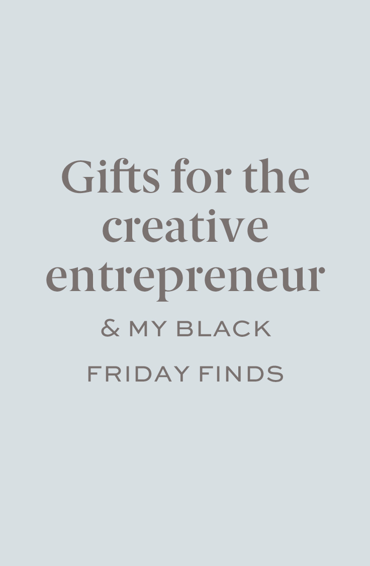 black friday finds and entrepreneur gifts