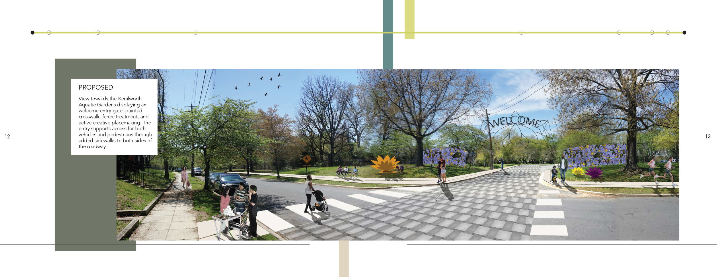 These images are from a report produced in spring 2018 by a group of graduate and undergraduate students led by Barbara Brown Wilson, professor of urban and environmental planning at the University of Virginia School of Architecture, in collaboration with buildingcommunityWORKSHOP,consultation with the Friends of Kenilworth Aquatic Gardens, and residents of the Kenilworth-Parkside neighborhoods.