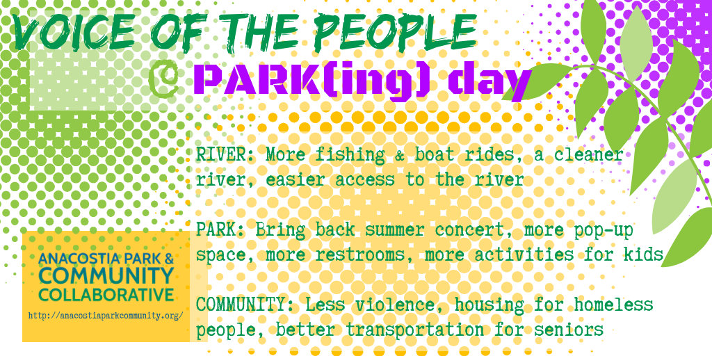 examples of corridorscape recommendations from park(ing) day 2018 on mlk. click on image to see the complete results.