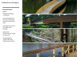 There are bridges designed in the Kingman and Heritage Island Feasibility Study and in the RFK Campus Future plan. Which ones are we actually going to build? Do we need them all?