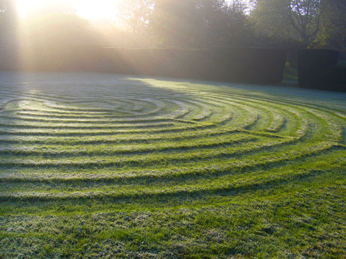 IMage: Labyrinth at Burford Priory. St. James's Piccadilly