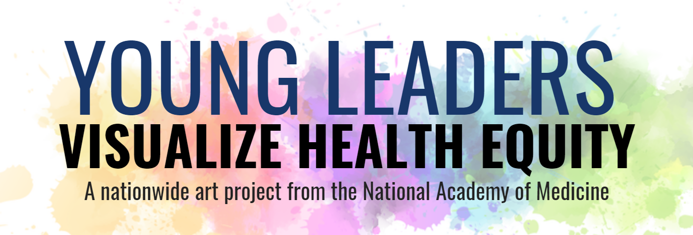 young leaders visualize health equity art project