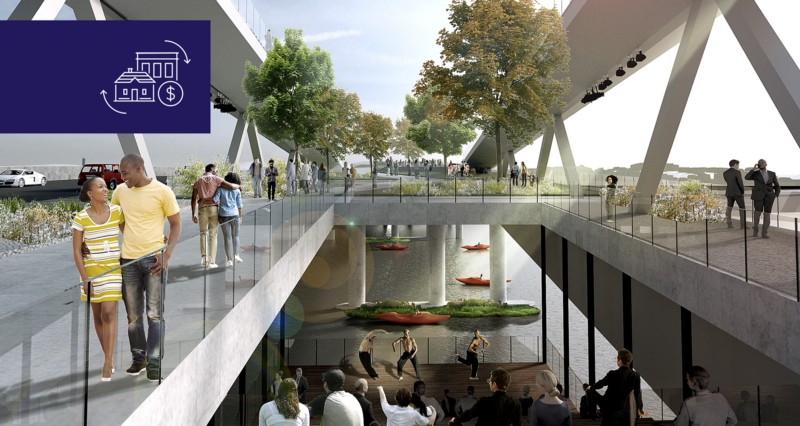 Rendering by OMA+OLIN.