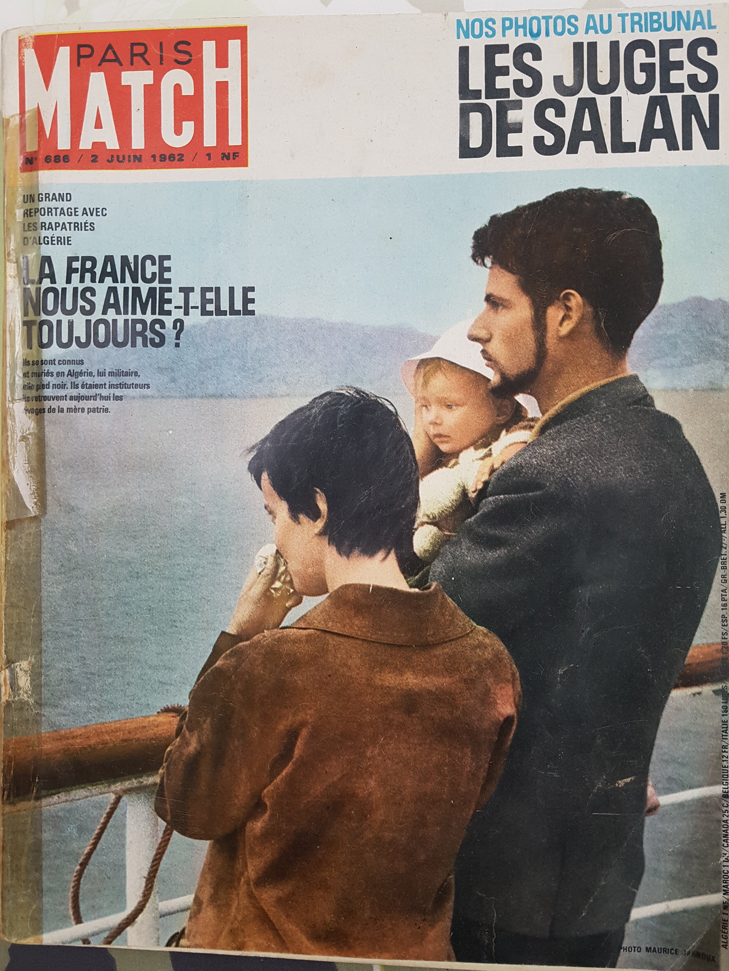 Paris-Match no. 686, 2 June 1962.