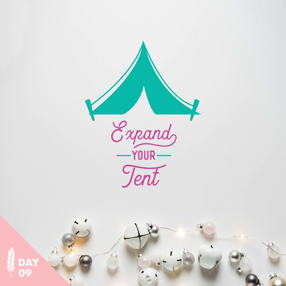 Expand Your Tent