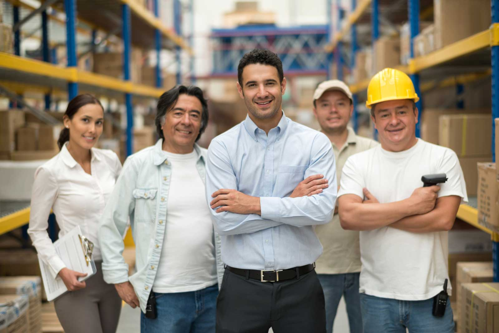 team of nationwide commercial plumbing workers