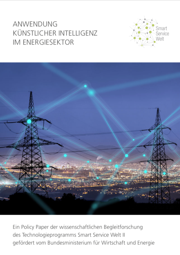 Policy Paper Künstliche Intelligenz im Energiesektor Drohnen