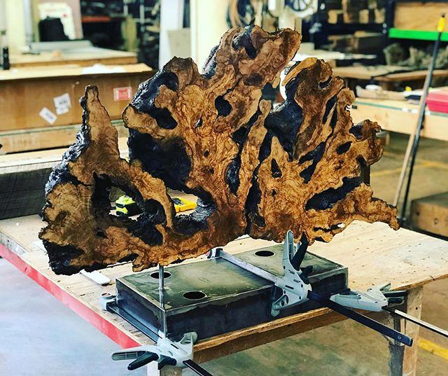Working on a couple more olive wood pieces. . . . . . #7mwoodworking #woodart #woodartisan #woodartwork #woodartist #woodarts #woodsculpture #woodsculptures #sculpture #liveedgeslab #liveedgedesign #woodslab #chicagoartist #chicagoart #chicagoartists #artchicago #chicagoartscene #chicagoartisan #artwoodworking #woodworkingart #woodslabart #custommade #handmade #sculptures