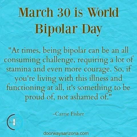 Happy #worldbipolarday ❤