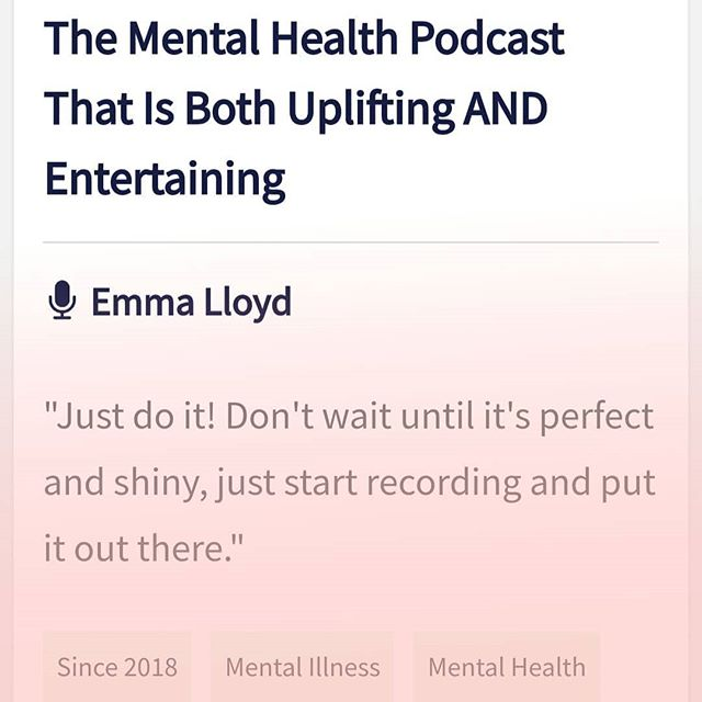 There's a sweet little interview about the podcast on listennotes.com. - you can find the link in my bio. How exciting! . .  #mentalhealth #mentalillness #bipolar #bipolarlife #bipolarbae #bipolardisorder #anxiety #depression #mixedstate #mhbloggers #mhpodcast #mentalhealthblogger #mentalhealthblog #mentalhealthpodcast #mentalhealthawareness #mentalhealthmatters #ed #bpd #eupd #socialanxiety #recovery