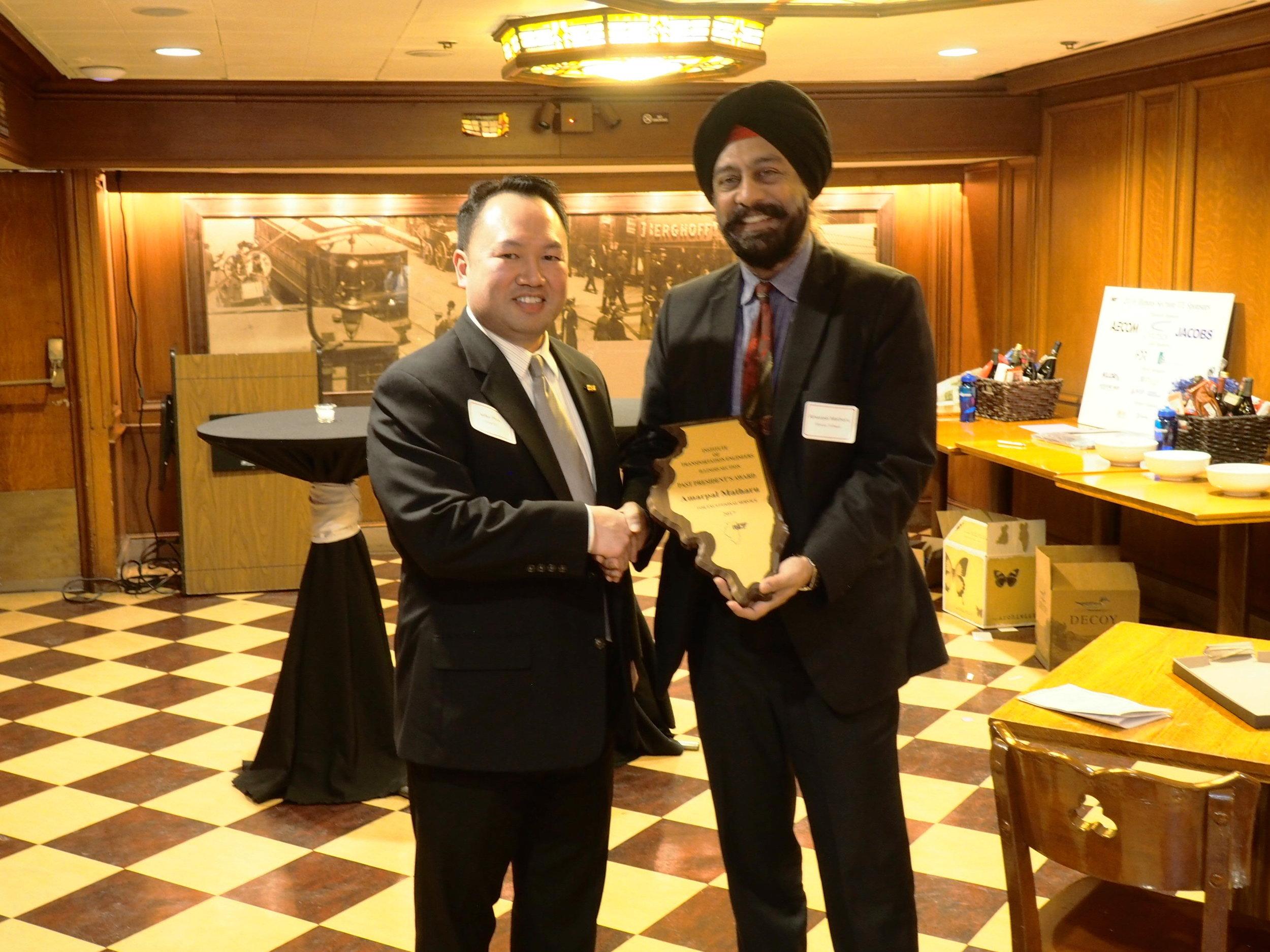 Past President's Award - Amarpal Matharu