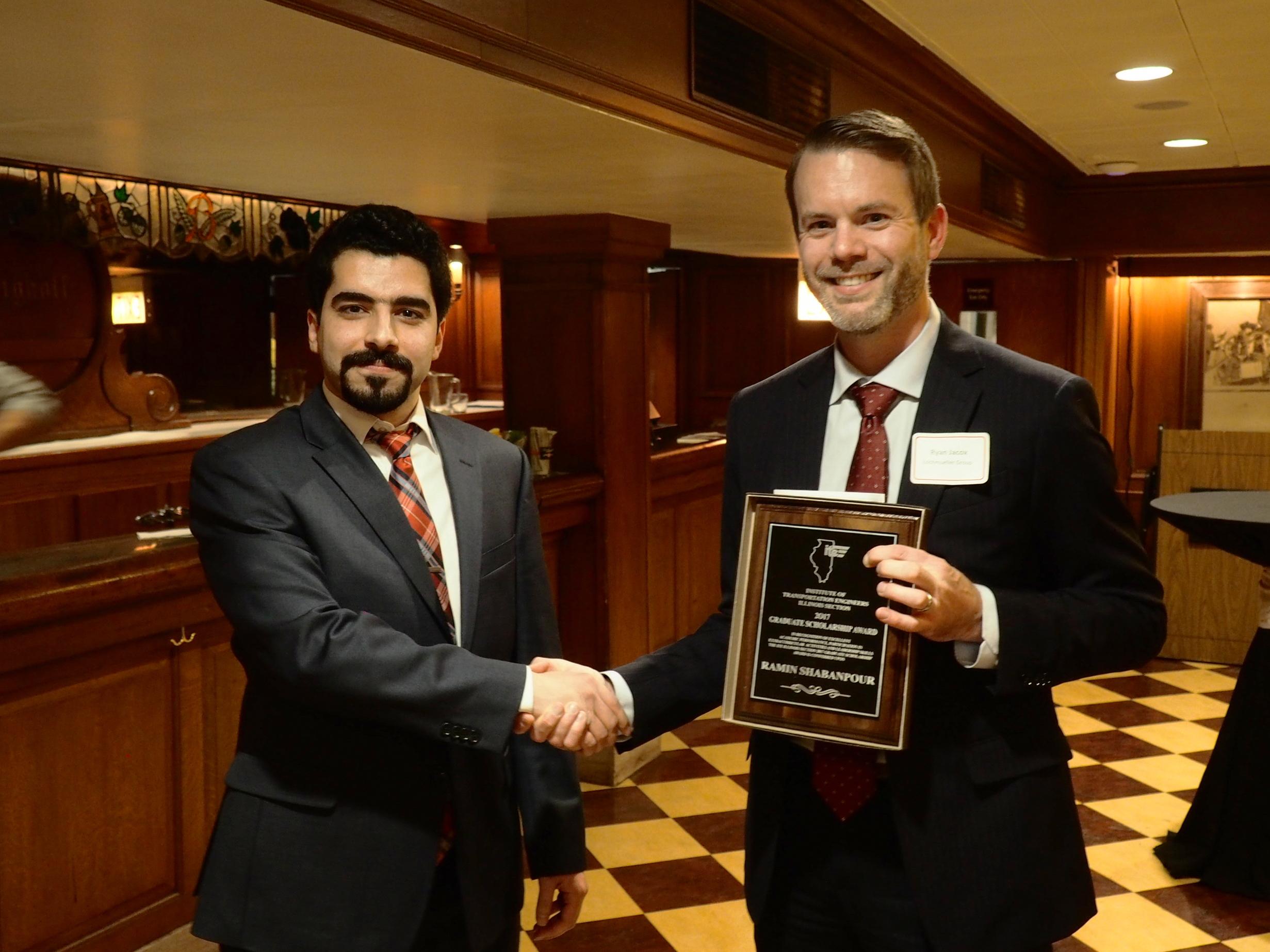 Graduate Scholarship - Ramin Shabanpour