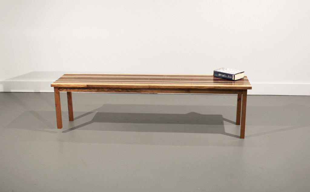 Infinite Jest Bench (One Short Leg)