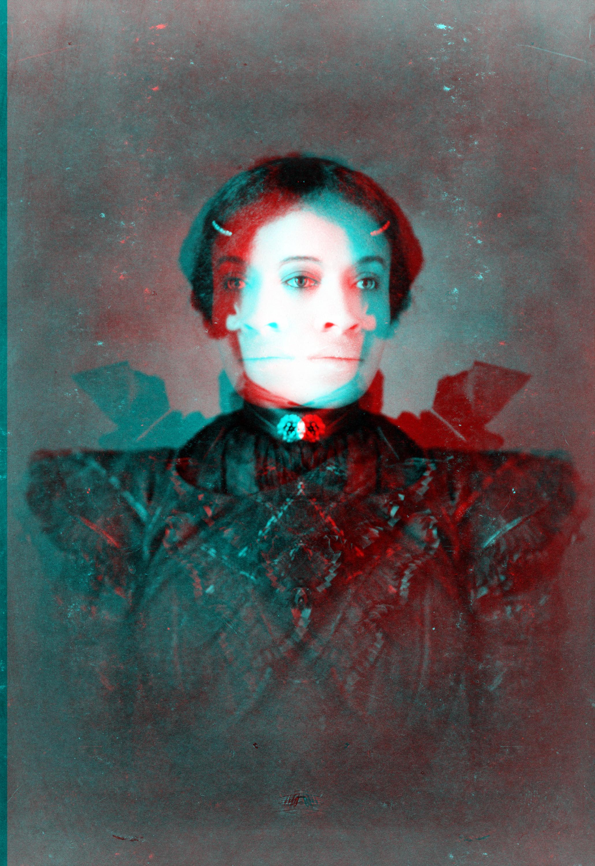 Woman in Black Cross Fade