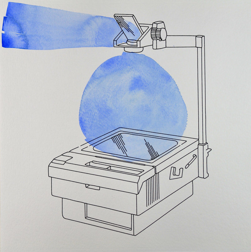 Projector Blue