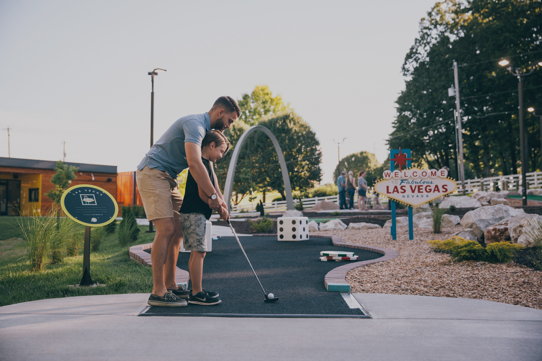 Gagasan untuk Petualangan Golf Get Away