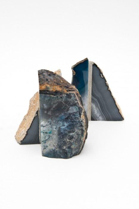 """Achatkonstrukt 13   Sculpture - Achat, Mauermortel  11.8"""" x 11.8"""" x 11.8""""  2016"""
