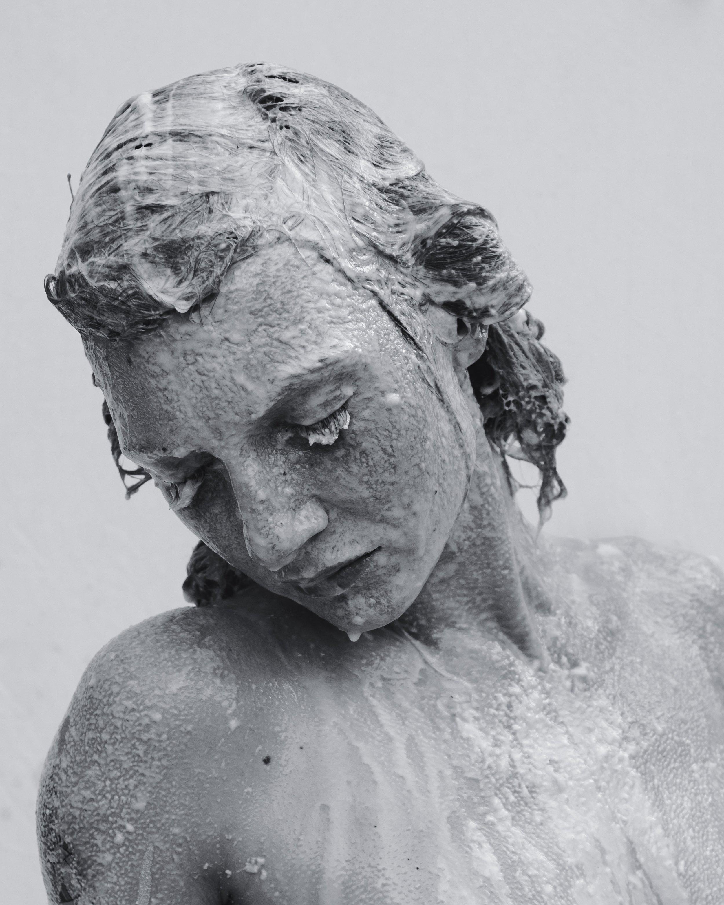 "Melt No.4 (Anastacia)   Archival pigment print  44"" x 55""    2019"