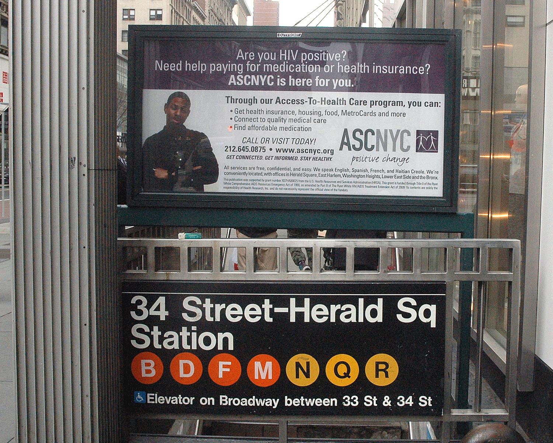 Urban Panel - Subway Entrance at 34th Street and Sixth Avenue