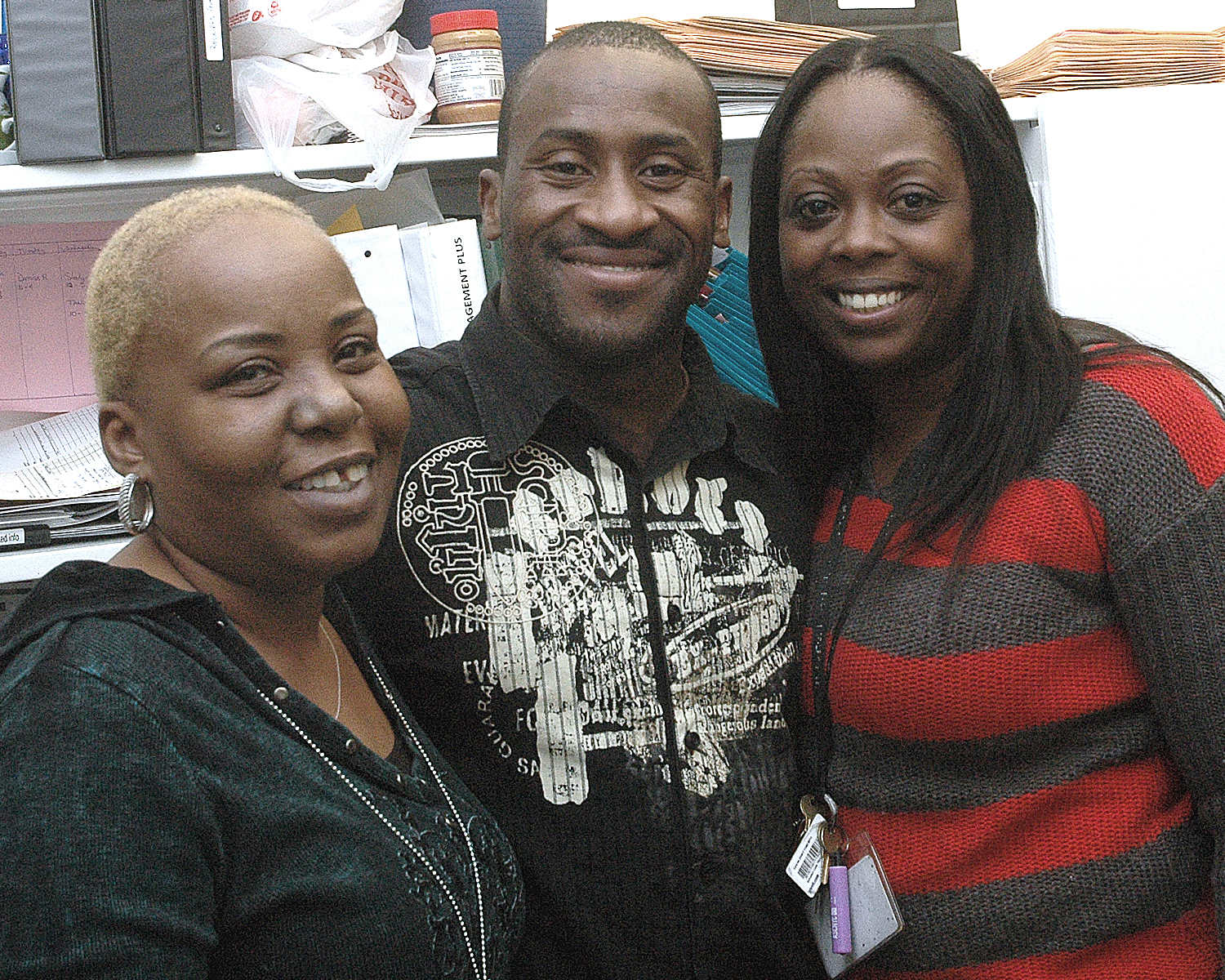 Yvonne Gooden, Derrick Flowers and Tamaqua Pierce