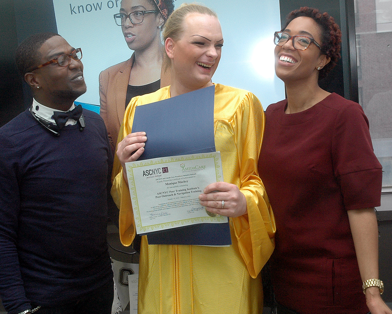 Calude Pierre, Monique M. and Tekeyah Sears