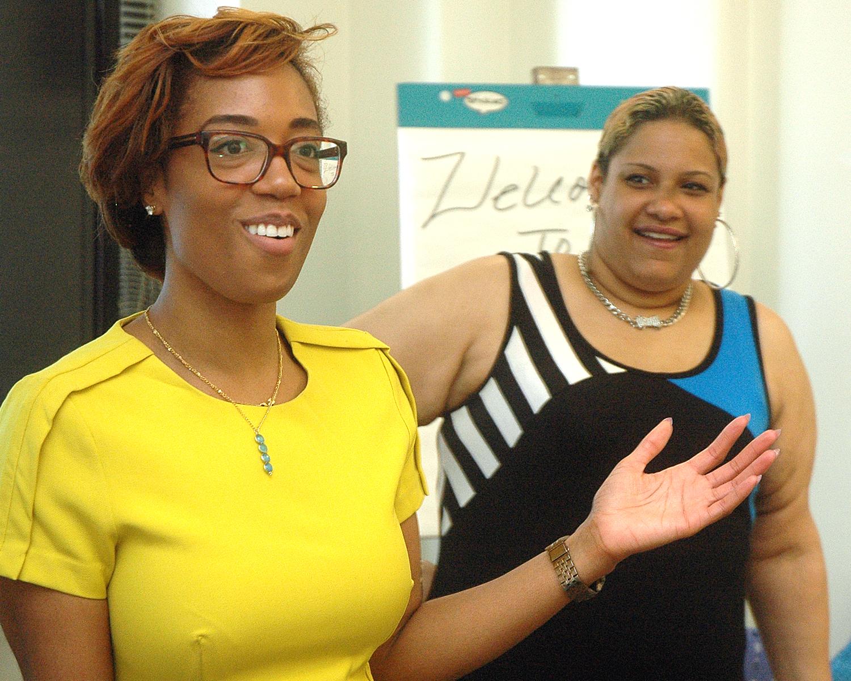 Tekeyah Sears and Joyselia C.