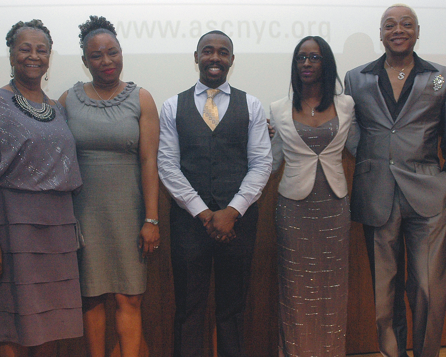 Joyce Myricks, Myrthelle Lauture, Jean Pierre Louis, Malika Minott and Stephen Wiliams