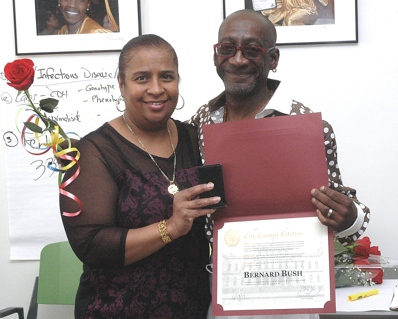 Lilian Anglada and Bernard B.