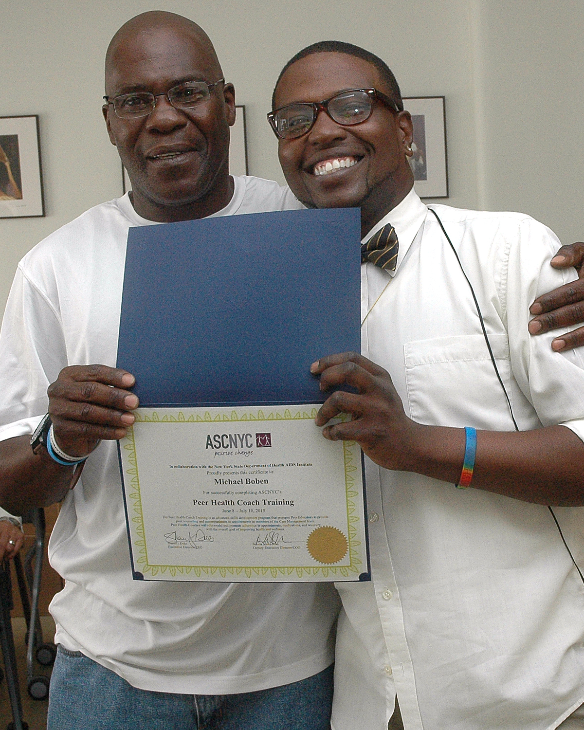 Michael B. and Claude Pierre