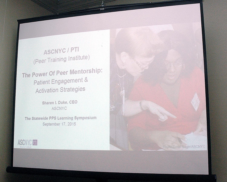 First Slide: The Power Of Peer Mentorship