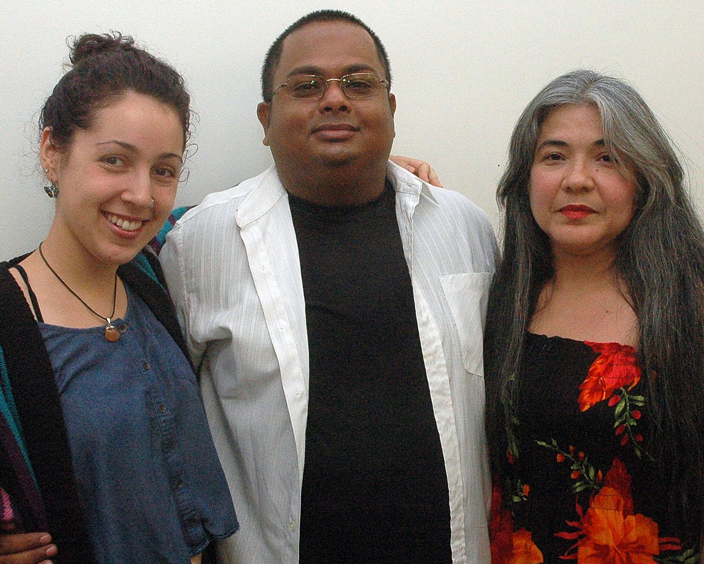 Linda, Azeem and Rosa