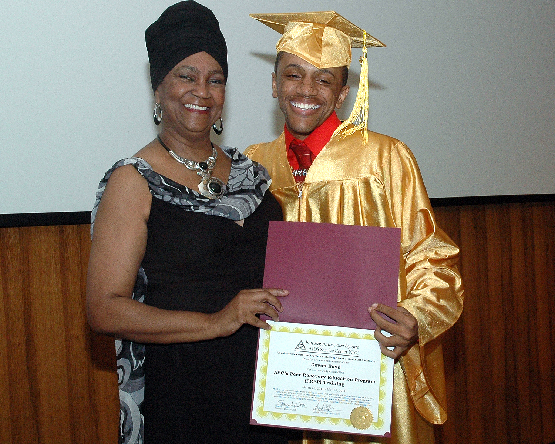 Devon B. - PREP Cycle 36 - Graduation Ceremony
