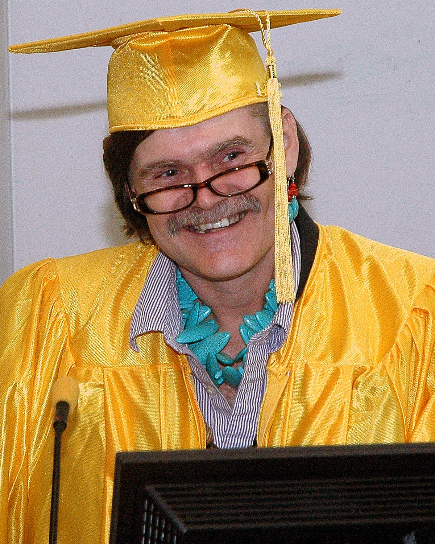 Johann L. - PREP Cycle 42 - Giving the Peer Graduate Testimonial at Graduation