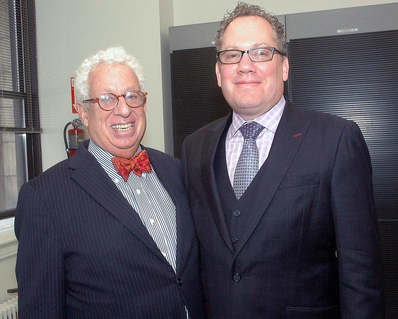 John Goldman, ASCNYC Board Member and Marc Shapses