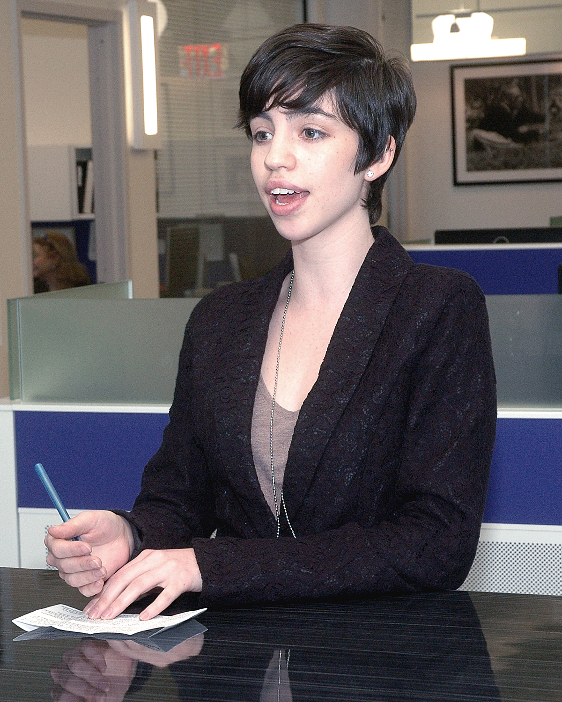 Rachel Schenkel, ASCNYC Staff - one of the tour guides