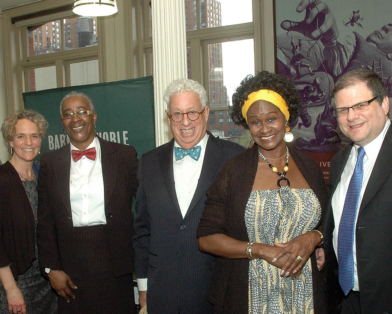 ASCNYC CEO/ED Sharen Duke, John Goldman, ASCNYC Board Member, Iris Elizabeth Sankey-Lewis, Allen Zwickler, ASCNYC Board Member and guest