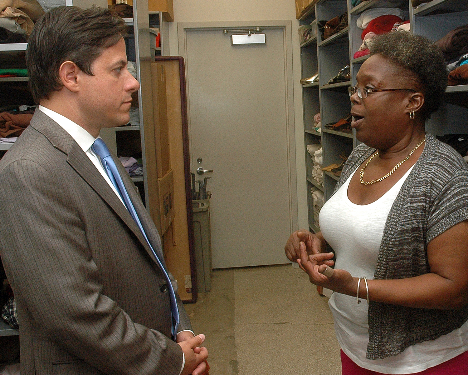NYC Council Member, Daniel Garodnick and ASCNYC Staff Member, Michele Goree