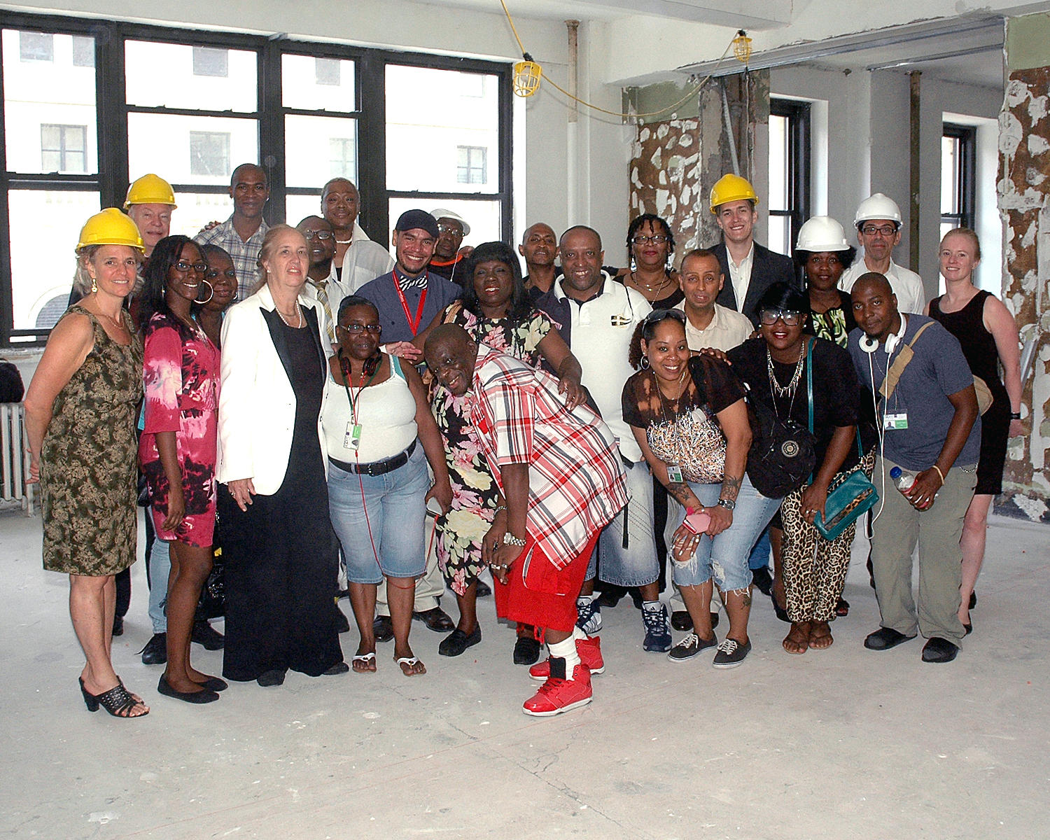 Gale A. Brewer, Manhattan Borough President - Sharen Duke - Brenda-Starks Ross - Murray Levi, Architect, Honored Guests and ASCNYC Peer Educators