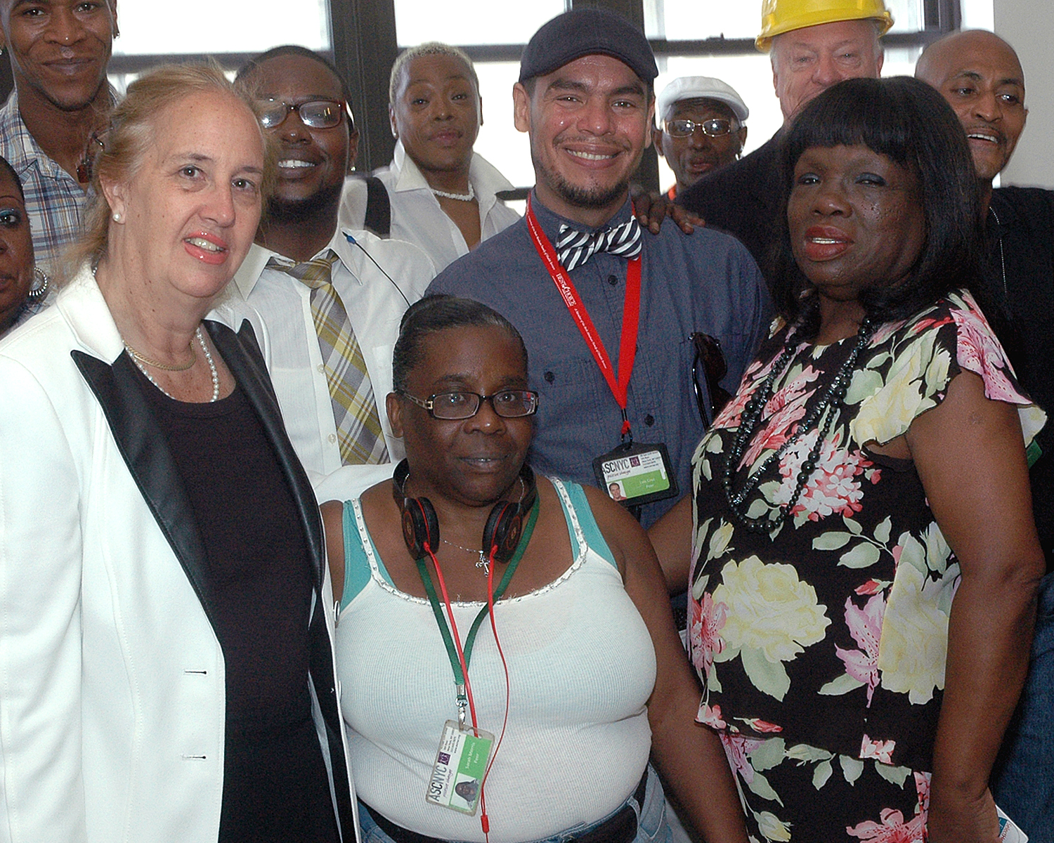 Gale A. Brewer, Manhattan Borough President with ASCNYC Peer Educators
