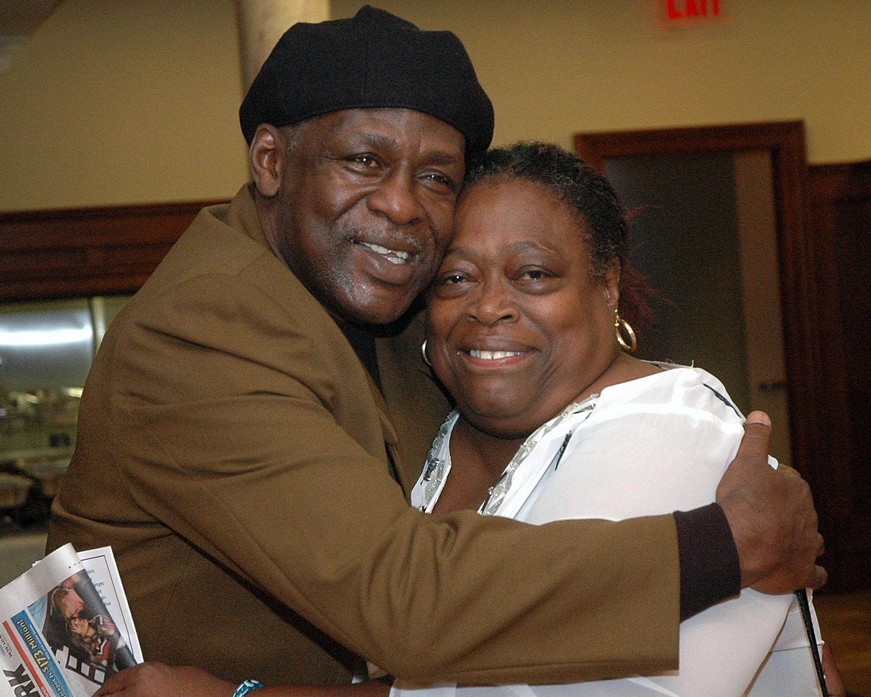 Melvin Shepheard and Shirley Laroche