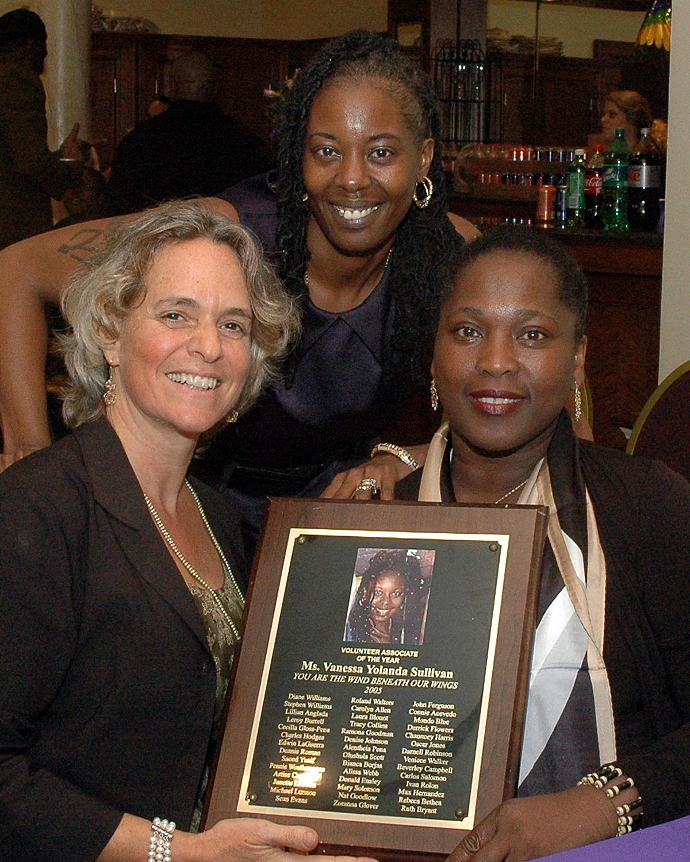 Sharen Duke, Vanessa Sullivan and Brenda Starks-Ross, ASCNYC Deputy Executive Director/COO