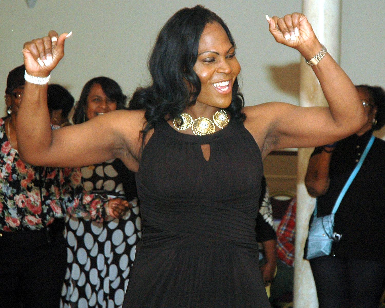 Jada Hawthorne on the dance floor