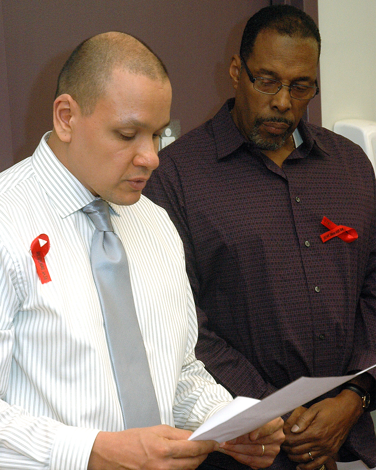 AIDS In Our Community: Reading Of Names - Ioannis Dunn Srimuang Boon and Derrick Horton