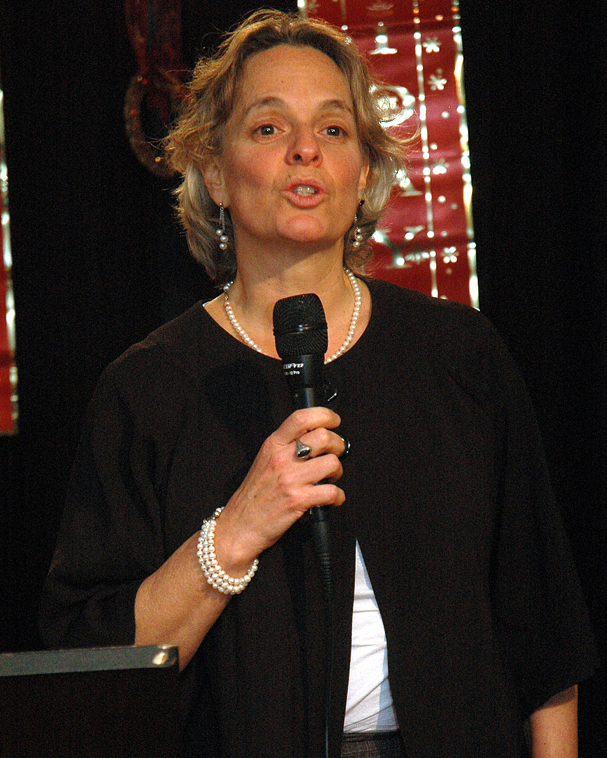 Sharen Duke during the testimonial to Brenda Starks-Ross