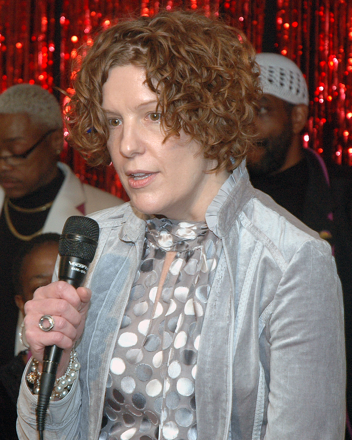 Marcy Thompson during the testimonial to Brenda Starks-Ross