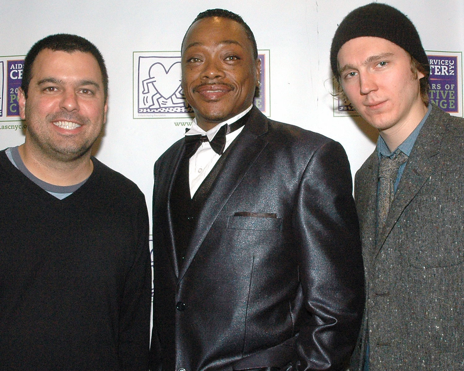 Paul Dano, Producer Andrew Miano and ASCNYC Star Stephen W.